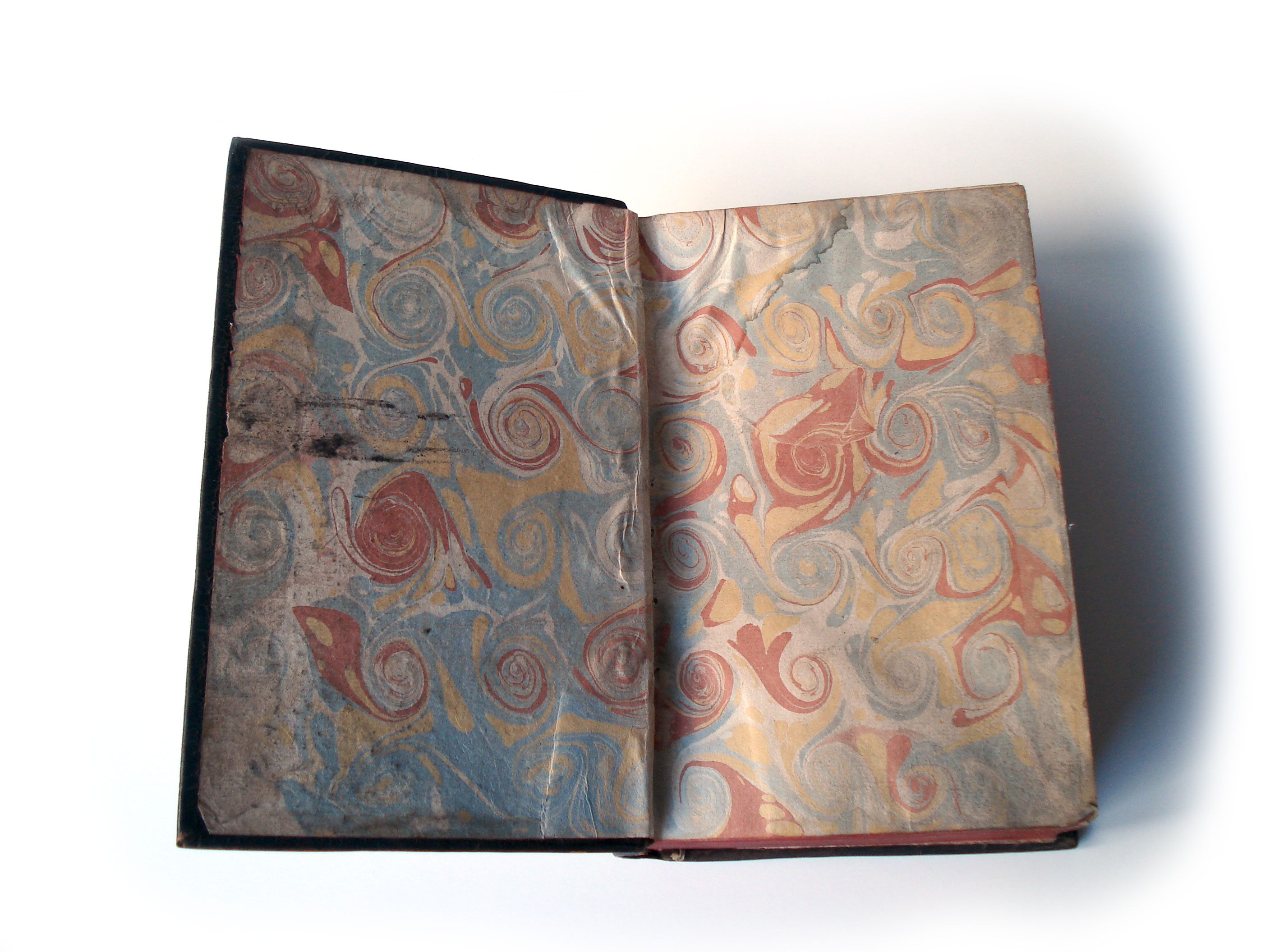 Old Book Inside Cover : Antique french book with hidden compartment eclectic